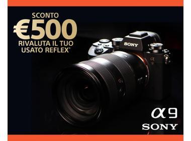 SONY A9 SCONTO 500 EURO