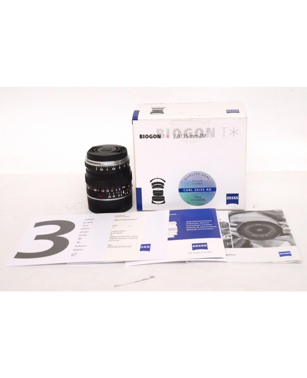 Foto Dotti | Zeiss Biogon T* 2/35mm (35mm f2) ZM Leica M Mount
