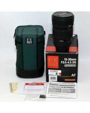 Nikon AF-D EX Sigma 15-30mm F3.5-4.5 DG