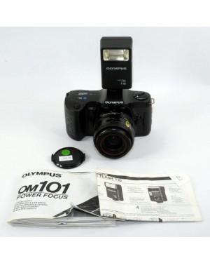 Olympus-Olympus OM101 OM 101 Power Focus + 35-70mm e Flash T18-20