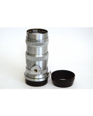 Nikon-Nikon RF Nikkor-Q C 3,5 / 13,5 cm Nippon Kogaku Japan + Paraluce per S S2 S3 SP-20