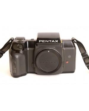 Olympus-Pentax SF7 Solo Corpo con Coperchio e Cinghia a tracolla-20