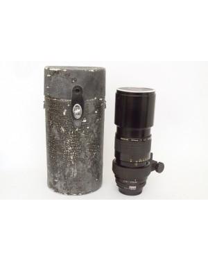 Nikon AI Nikkor 300mm F4.5 con Tappi e Custodia (un po' usurata)