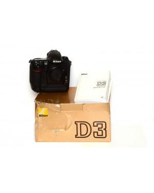 Nikon-FOTOCAMERA DIGITALE REFLEX NIKON D3 SCATTI 257164 SOLO CORPO-20