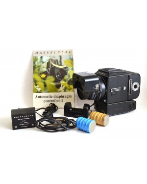 Hasselblad-Hasselblad 500 EL/M Motorizzata + Planar 1:3.5/100 Automatic Diaphram Contol Rarissima-20