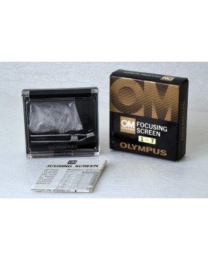 Olympus-OLYMPUS OM SYSTEM FOCUSING SCREEN 1-7-10