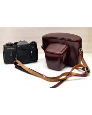 Leica-Leitz Wetzlar Leicaflex SL Solo Corpo Nera Leica + Borsa Originale-10
