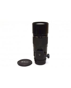 Nikon-Nikon AI-S Nikkor 300mm F4.5 Potente Teleobiettivo. Anche digitali-10