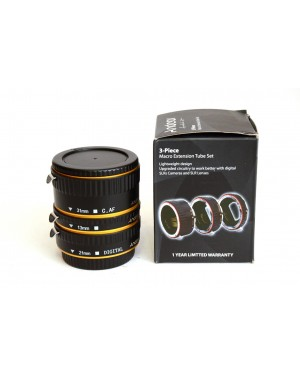 Generico-ANDOER MACRO EXTENSION TUBE SET 3-PIECE 13-21-31MM PER CANON-10