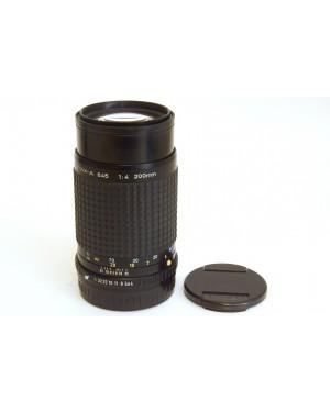 Pentax-Pentax a 645 200mm F4 con Coperchi Originali in Eccellenti condizioni-10