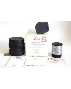 Leica-Leica 11883 Summilux-M 35mm F 1.4 ASPh. Chrome ex Demo Nuovo da Vetrina-10