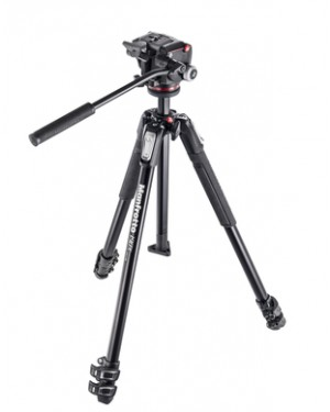 Manfrotto-MANFROTTO MK190X3-2W TREPPIEDE-10