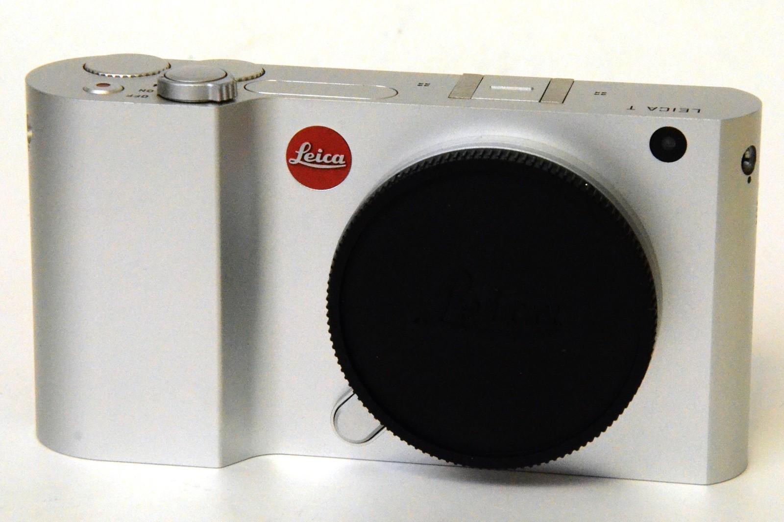 Leica t sans miroir appareil photo num rique silver for Appareil photo sans miroir