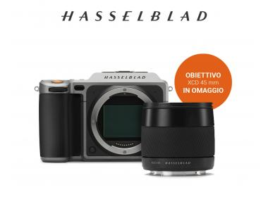 X1D HASSELBLAD - IN OMAGGIO XCD 45mm