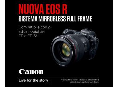 Canon EOS R disponibile a breve
