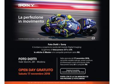 Sony Day - La perfezione in movimento