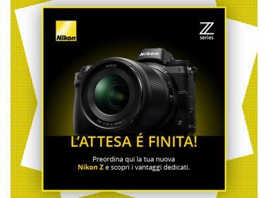 Pre-ordina la tua Nikon Z!