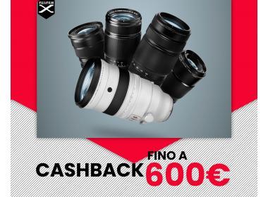 Fujifilm Cashback Fujinon Serie X
