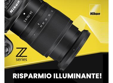 Nikon Z - Risparmio illuminante!