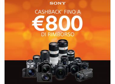 Sony Cashback estate 2019