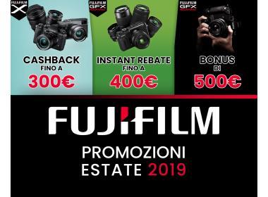 Fujifilm promozioni estate 2019