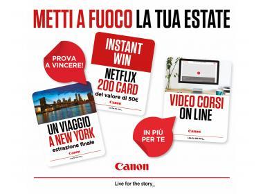 Canon Summer Campaign 2019