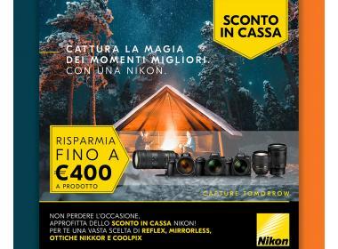 Nikon SCONTO IN CASSA!