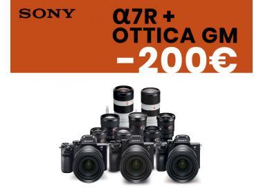 Sony sconto A7R + Ottica GM